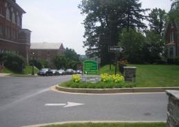 McDaniel College Wayfinding Admissions Render