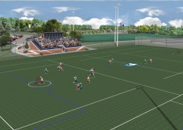 Messiah College Lacrosse Stadium - View 1
