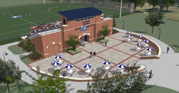 Messiah College Lacrosse Stadium - View 3