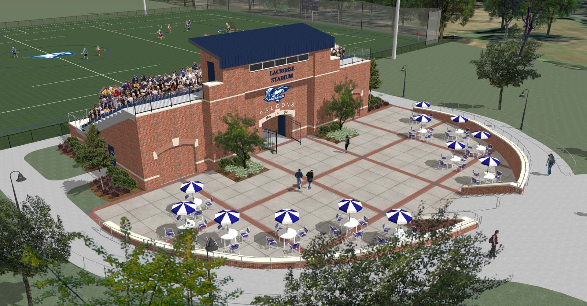 Messiah College Lacrosse Stadium - View 3