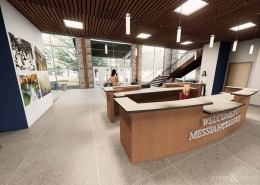 Messiah College Welcome Center
