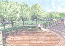 PSU Berks Amphitheatre Plaza