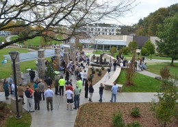 Perkins Plaza Dedication