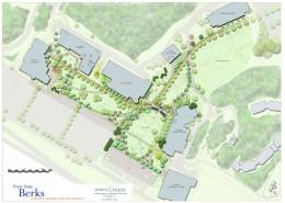 PSU Berks Walkway Plan