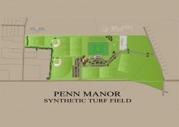 Penn Manor Comet Field Plan