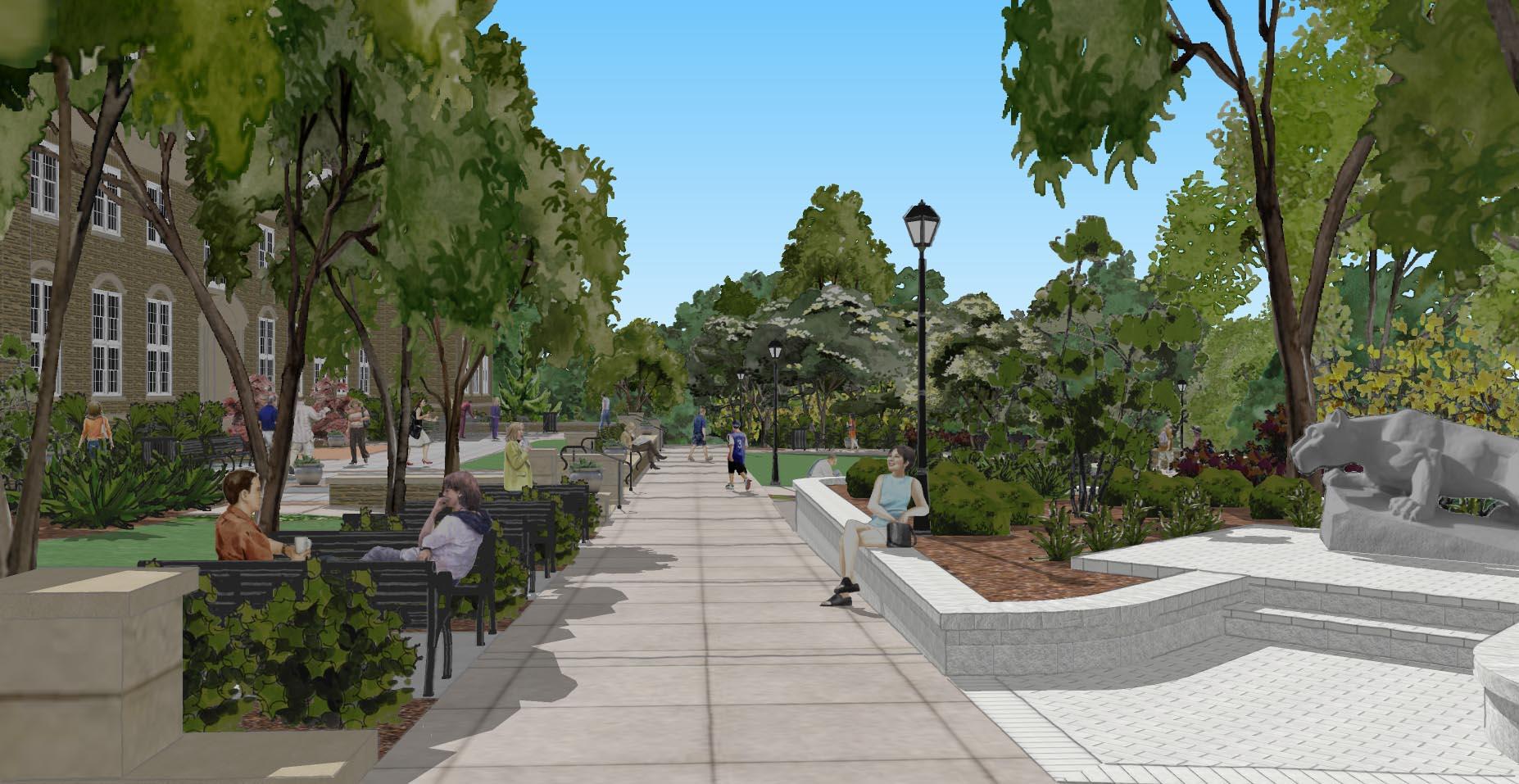 Penn State University Abington Campus Perspective2