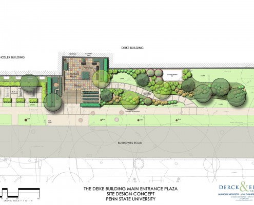 Penn State University Deike Building Plan