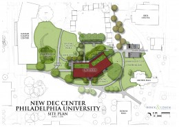 Philadelphia University DEC Center Plan
