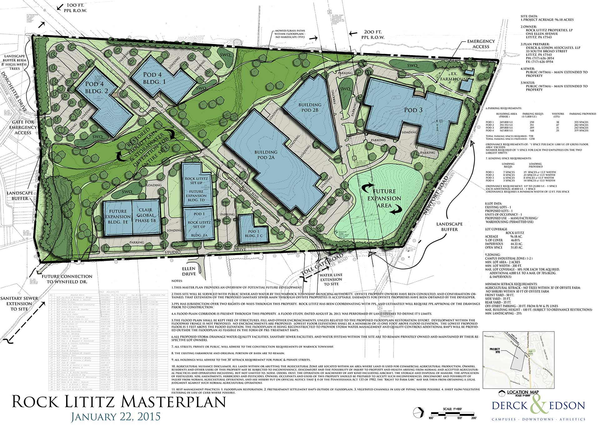 Rock Lititz Masterplan