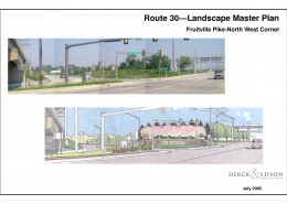 Route 30 Beautification Plan Fruitville North Sketch