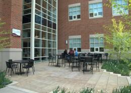 SU Science Building Courtyard Photo