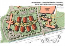 Susquehanna University West Village Plan