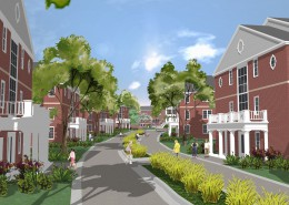 Susquehanna University West Village Rendering