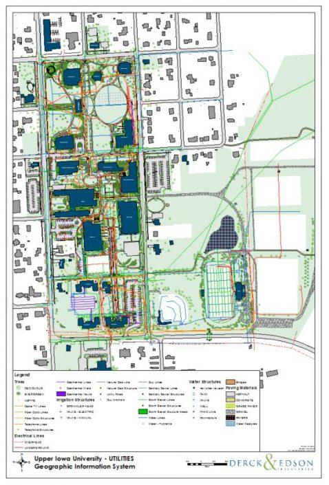 Upper Iowa University GIS