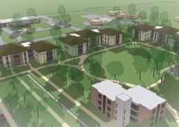 UIU Student Housing Perspective
