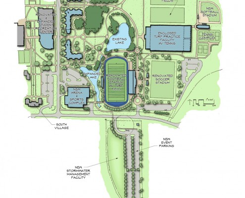 Upper Iowa University Athletics Master Plan