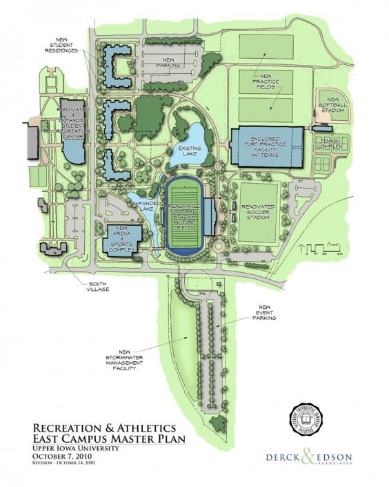 Upper Iowa University Athletics Master Plan