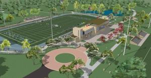 Upper Iowa University Athletics Master Plan Birdseye