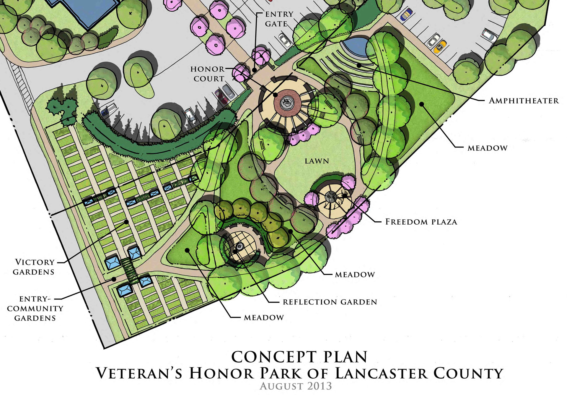 Veterans Honor Park Plan