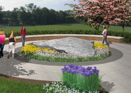 Veterans Honor Park Rendering