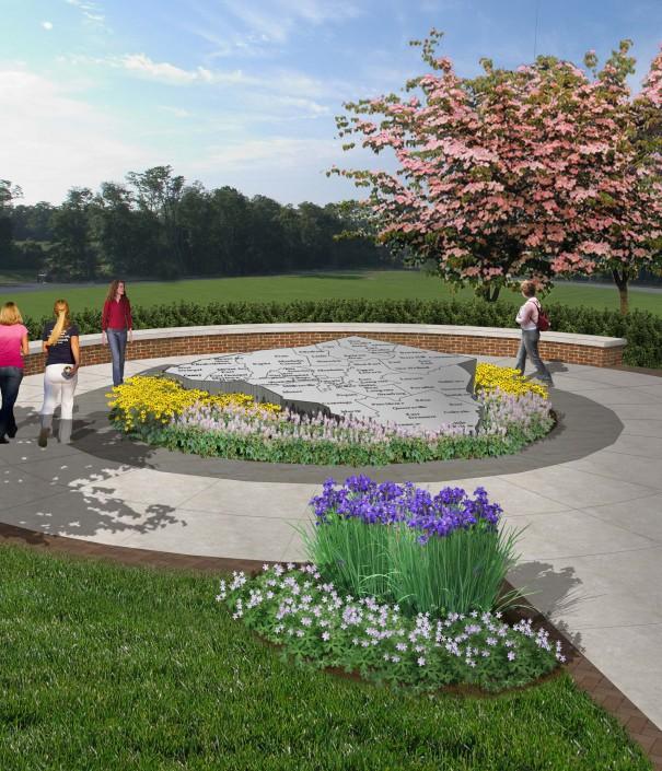 Veterans Honor Park Rendering