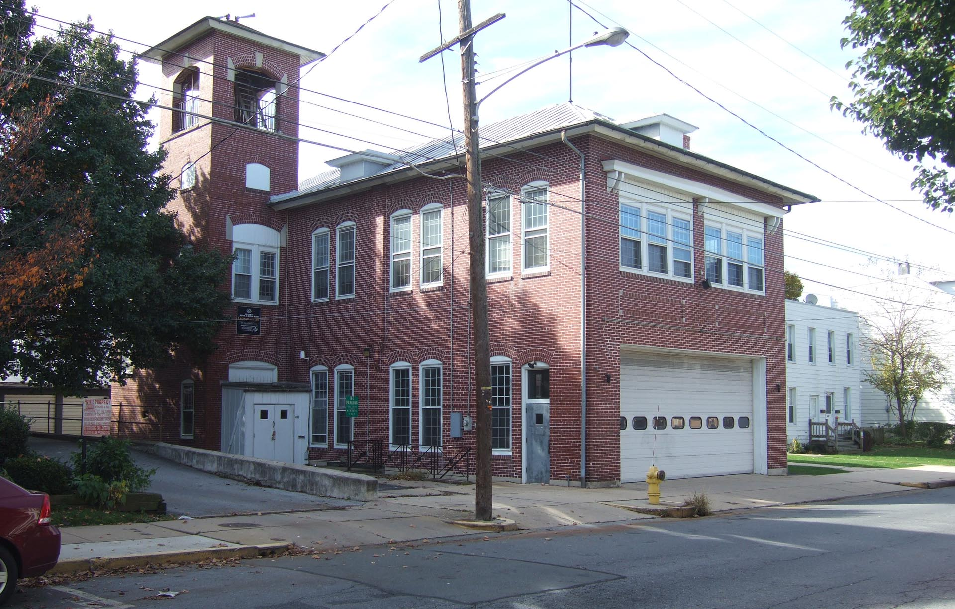 West Reading Elm Street Firehouse Before