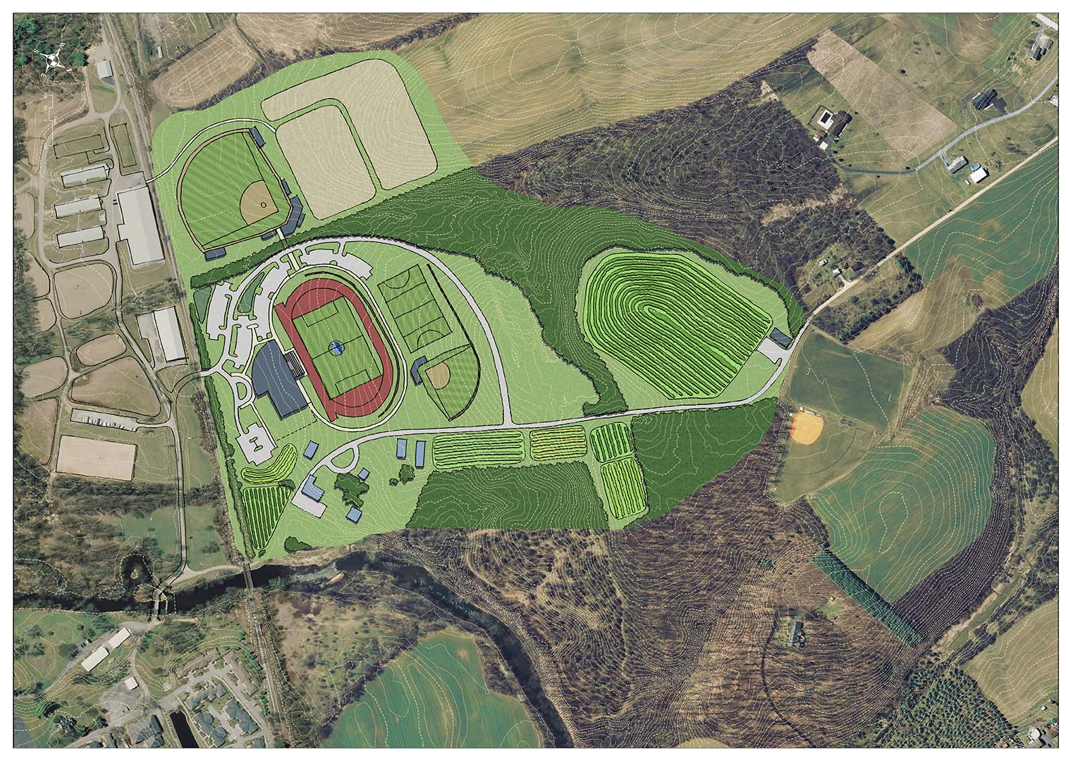 Wilson College North Campus Athletics Master Plan